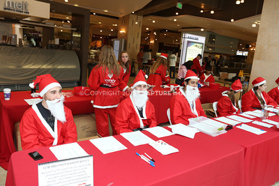 1212271-0012    The 3rd Annual Santa Walk fundraiser benefiting Variety the Children's Charity of Southern California at Westfield Topanga on Dec. 2, 2012 in Canoga Park, Calif.  (Photo by Ryan Miller/Capture Imaging)