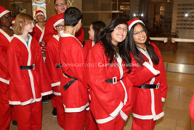 1212271-0022    The 3rd Annual Santa Walk fundraiser benefiting Variety the Children's Charity of Southern California at Westfield Topanga on Dec. 2, 2012 in Canoga Park, Calif.  (Photo by Ryan Miller/Capture Imaging)