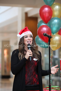 1212271-0033    The 3rd Annual Santa Walk fundraiser benefiting Variety the Children's Charity of Southern California at Westfield Topanga on Dec. 2, 2012 in Canoga Park, Calif.  (Photo by Ryan Miller/Capture Imaging)