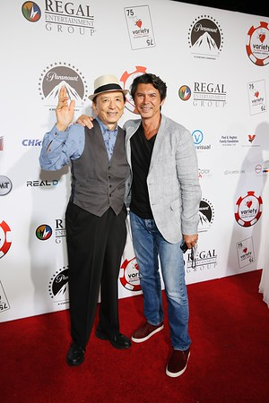 6th Annual Variety - The Children's Charity Of Southern CA Texas Hold 'Em Poker Tournament, Paramount Pictures Studio Lot, Los Angeles, America - 27 Jul 2016
