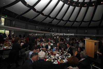 1112235-017    LOS ANGELES, CA - DECEMBER 15: The 2011 Heart of Show Business Benefit Luncheon honoring Monty Hall to benefit Variety the Children's Charity of Southern California at Skirball Center on December 15, 2011 in Los Angeles, California. (Photo by Ryan Miller/Capture Imaging)