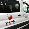 The Variety The Children's Charity Shirley and Dianne Becker Sunshine Coach Dedication