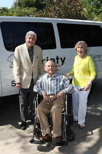 1208199-034     LOS ANGELES, CA - AUGUST 9: Variety The Children's Charity present the Monty and Marilyn Hall Sunshine Coach to Jerry Steinbaum and Big Brothers Big Sisters of Los Angeles on August 9, 2012 in Los Angeles, California. (Photo by Ryan Miller/Capture Imaging)