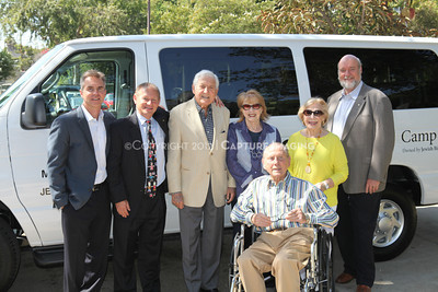 1208199-047     LOS ANGELES, CA - AUGUST 9: Variety The Children's Charity present the Monty and Marilyn Hall Sunshine Coach to Jerry Steinbaum and Big Brothers Big Sisters of Los Angeles on August 9, 2012 in Los Angeles, California. (Photo by Ryan Miller/Capture Imaging)