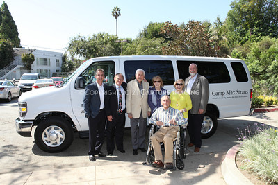 1208199-043     LOS ANGELES, CA - AUGUST 9: Variety The Children's Charity present the Monty and Marilyn Hall Sunshine Coach to Jerry Steinbaum and Big Brothers Big Sisters of Los Angeles on August 9, 2012 in Los Angeles, California. (Photo by Ryan Miller/Capture Imaging)
