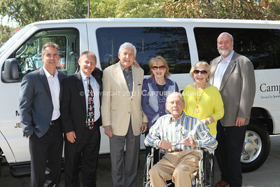 1208199-045     LOS ANGELES, CA - AUGUST 9: Variety The Children's Charity present the Monty and Marilyn Hall Sunshine Coach to Jerry Steinbaum and Big Brothers Big Sisters of Los Angeles on August 9, 2012 in Los Angeles, California. (Photo by Ryan Miller/Capture Imaging)