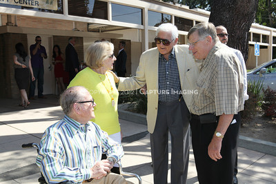 1208199-010     LOS ANGELES, CA - AUGUST 9: Variety The Children's Charity present the Monty and Marilyn Hall Sunshine Coach to Jerry Steinbaum and Big Brothers Big Sisters of Los Angeles on August 9, 2012 in Los Angeles, California. (Photo by Ryan Miller/Capture Imaging)