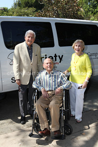 1208199-035     LOS ANGELES, CA - AUGUST 9: Variety The Children's Charity present the Monty and Marilyn Hall Sunshine Coach to Jerry Steinbaum and Big Brothers Big Sisters of Los Angeles on August 9, 2012 in Los Angeles, California. (Photo by Ryan Miller/Capture Imaging)