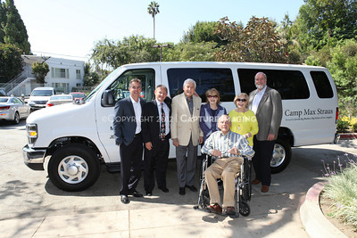 1208199-042     LOS ANGELES, CA - AUGUST 9: Variety The Children's Charity present the Monty and Marilyn Hall Sunshine Coach to Jerry Steinbaum and Big Brothers Big Sisters of Los Angeles on August 9, 2012 in Los Angeles, California. (Photo by Ryan Miller/Capture Imaging)