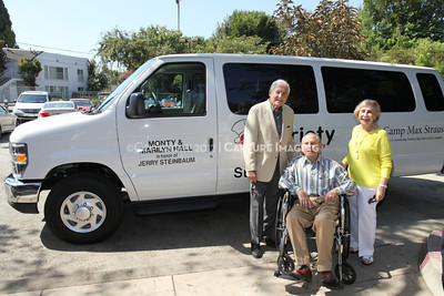 1208199-038     LOS ANGELES, CA - AUGUST 9: Variety The Children's Charity present the Monty and Marilyn Hall Sunshine Coach to Jerry Steinbaum and Big Brothers Big Sisters of Los Angeles on August 9, 2012 in Los Angeles, California. (Photo by Ryan Miller/Capture Imaging)