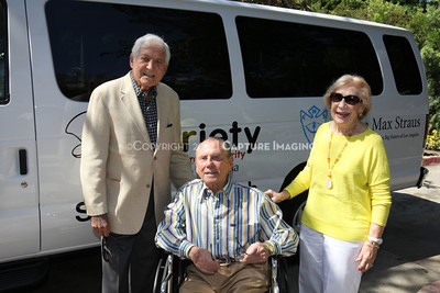 1208199-039     LOS ANGELES, CA - AUGUST 9: Variety The Children's Charity present the Monty and Marilyn Hall Sunshine Coach to Jerry Steinbaum and Big Brothers Big Sisters of Los Angeles on August 9, 2012 in Los Angeles, California. (Photo by Ryan Miller/Capture Imaging)