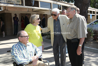 1208199-013     LOS ANGELES, CA - AUGUST 9: Variety The Children's Charity present the Monty and Marilyn Hall Sunshine Coach to Jerry Steinbaum and Big Brothers Big Sisters of Los Angeles on August 9, 2012 in Los Angeles, California. (Photo by Ryan Miller/Capture Imaging)
