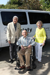 1208199-036     LOS ANGELES, CA - AUGUST 9: Variety The Children's Charity present the Monty and Marilyn Hall Sunshine Coach to Jerry Steinbaum and Big Brothers Big Sisters of Los Angeles on August 9, 2012 in Los Angeles, California. (Photo by Ryan Miller/Capture Imaging)