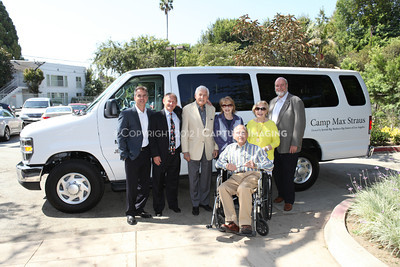 1208199-048     LOS ANGELES, CA - AUGUST 9: Variety The Children's Charity present the Monty and Marilyn Hall Sunshine Coach to Jerry Steinbaum and Big Brothers Big Sisters of Los Angeles on August 9, 2012 in Los Angeles, California. (Photo by Ryan Miller/Capture Imaging)