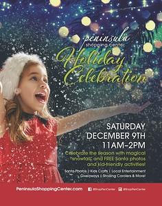 Peninsula Shopping Center – Holiday Celebration – Dec 9, 2017