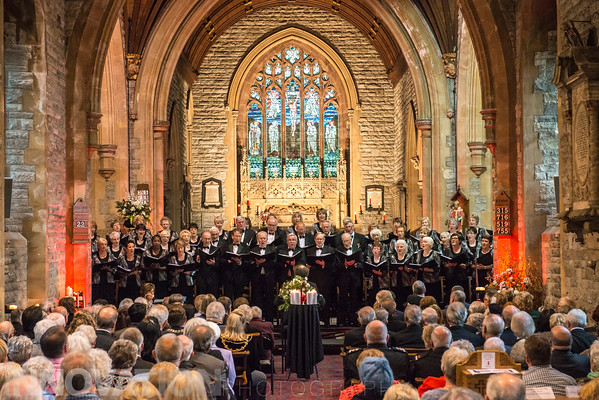 Hywel Girls' Choir and Hywel Boy Singers- Victory in Europe Concert, Llanelli 2015