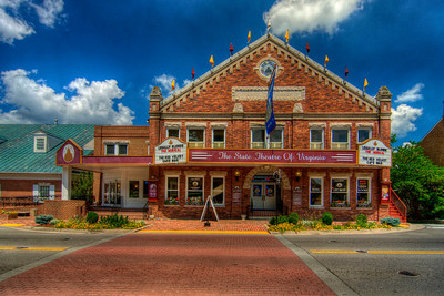 The Barter Theatre on Main Street in Abingdon, VA on Wednesday, August 8, 2012. Copyright 2012 Jason Barnette