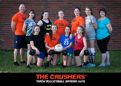 The Crushers YMCA Volleyball Spring 2015