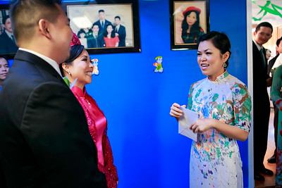 Vu and Lan Wedding at Our Lady of Refuge and China Stix Restaurant by Huy Pham Photography