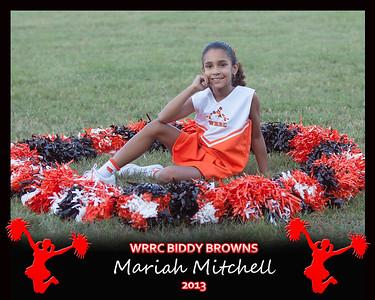 Browns Biddy Cheerleading '13