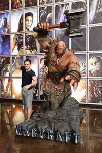 """The """"Warcraft"""" installation at ArcLight Culver City"""