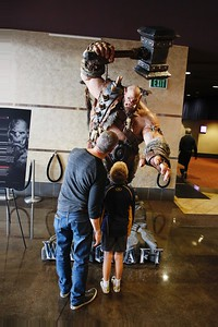 "The ""Warcraft"" installation at ArcLight Pasadena"