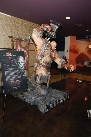 "The ""Warcraft"" installation at ArcLight Pasadena"