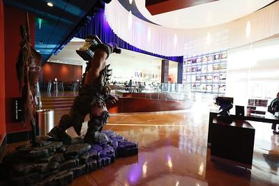 "The ""Warcraft"" installation at ArcLight Santa Monica"
