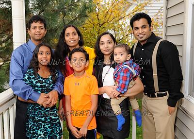 Wauconda Photographer. Family party and portraits. Shrey B. 10.18.14