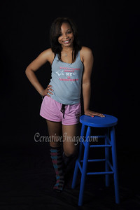 Streamwood Il Photographer. Tians J sweet 16 portrait shoot.