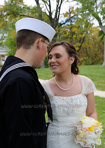 Waukegan Wedding Photographer. Hannah & Austin Wedding.  10/26/2013