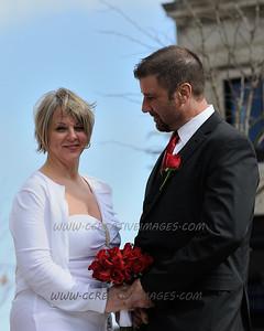 Waukegan IL  Wedding Portrait Photographer. Terpening/Otero wedding 4/20/2013