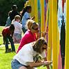Wayne Branch Library Mural : Participatory Community Mural; Carol Tharp-Perrin, Artistic Director.