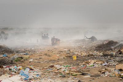 Hulene garbage dump