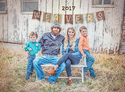 Weaver family 2017