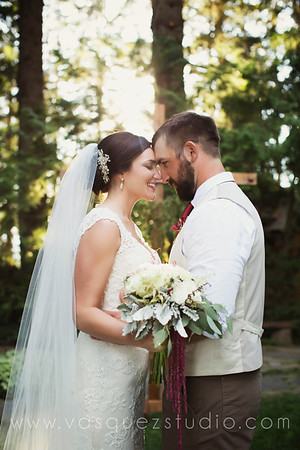 Mr & Mrs Porter // Ohme Gardens wedding by Vasquez Photography