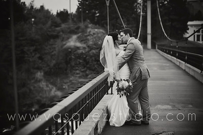 Adam + Nikki // Flour Mill, Spokane WA wedding by Vasquez Photography