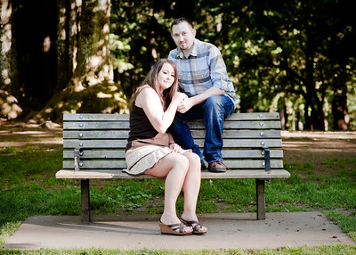 Amber and Larry Engagement Session