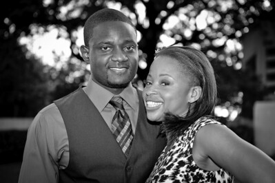 Akin and Kehinde Engagement Session