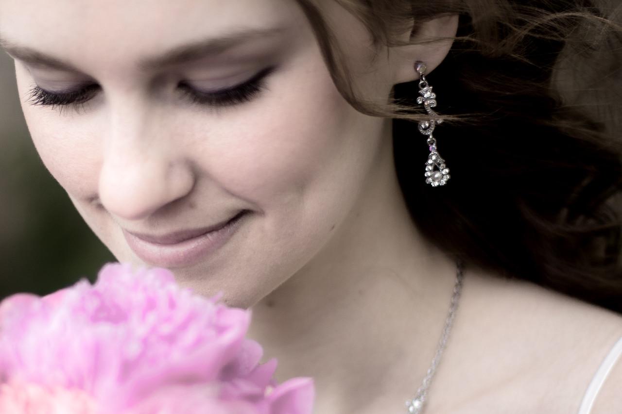 Ben & Laura Haddon Heights Wedding<br /> Laura Close Up
