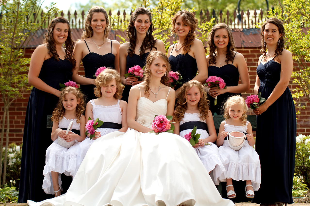 Ben & Laura Haddon Heights Wedding<br /> The bride and her maids
