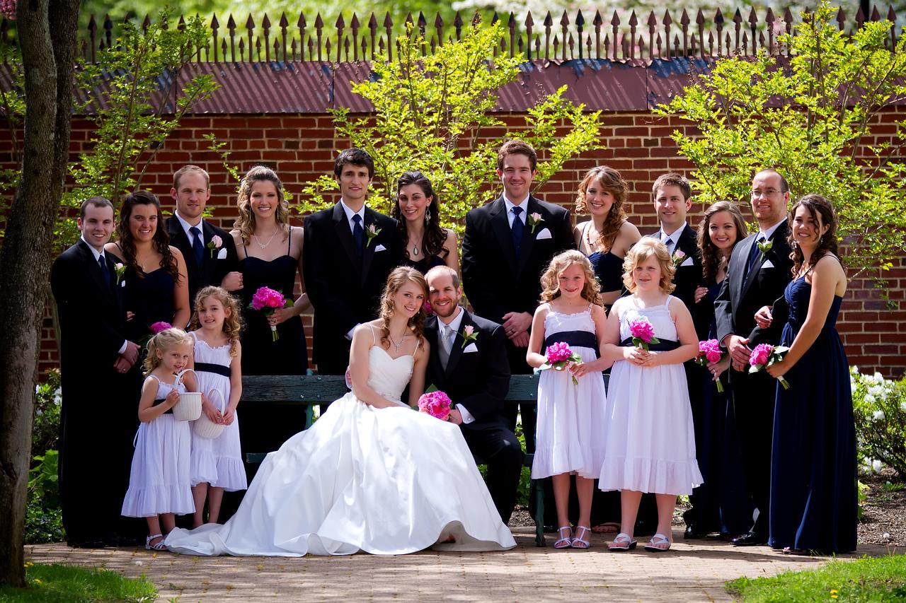 Ben & Laura Haddon Heights Wedding<br /> Wedding party formal