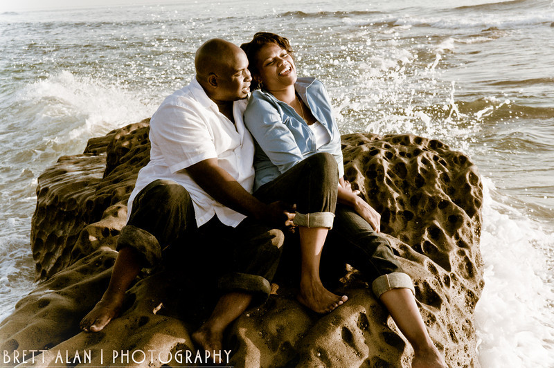 Windansea Beach Engagement Photography