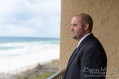 Michelle & Garrett - Getting Ready - Destin Wedding Photographers