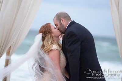 Michelle & Garrett - Ceremony - Destin Wedding Photographers