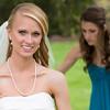 Danielle & her bridesmaid Rebekah