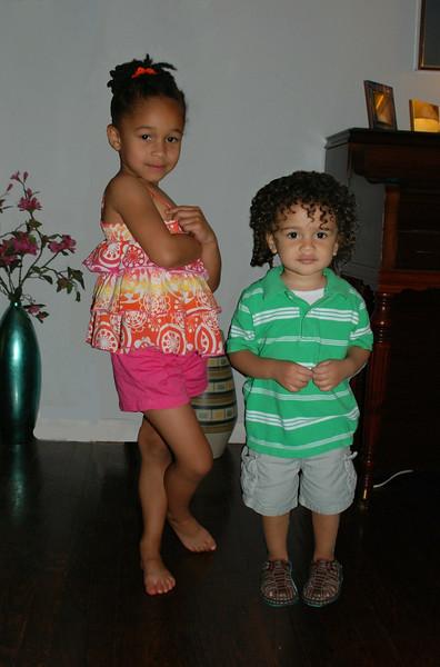 Amanda & Jaden June 2010