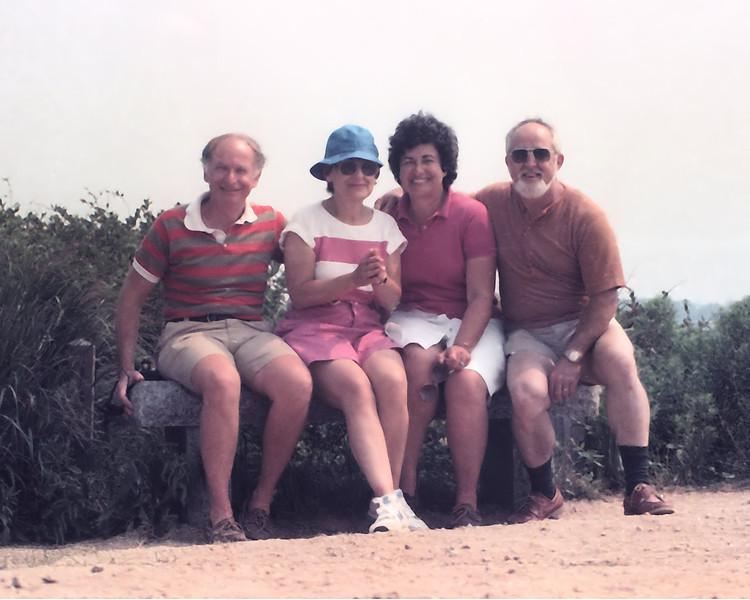 Joan & Lew, Sim & Lee1021