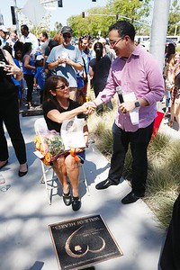 2017 Walk of Hearts Ceremony at The Village at Westfield Topanga