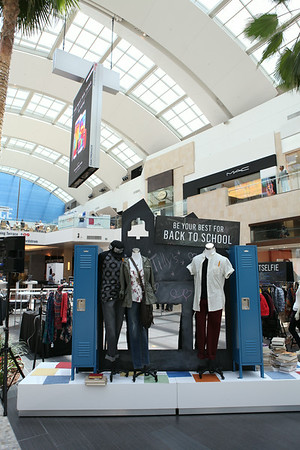 The Back to School Styling Suite at Westfield Topanga Mall